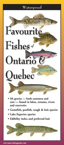 Favourite Fishes of Ontario & Quebec – Folding Guides