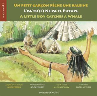 Little Boy Catches a Whale