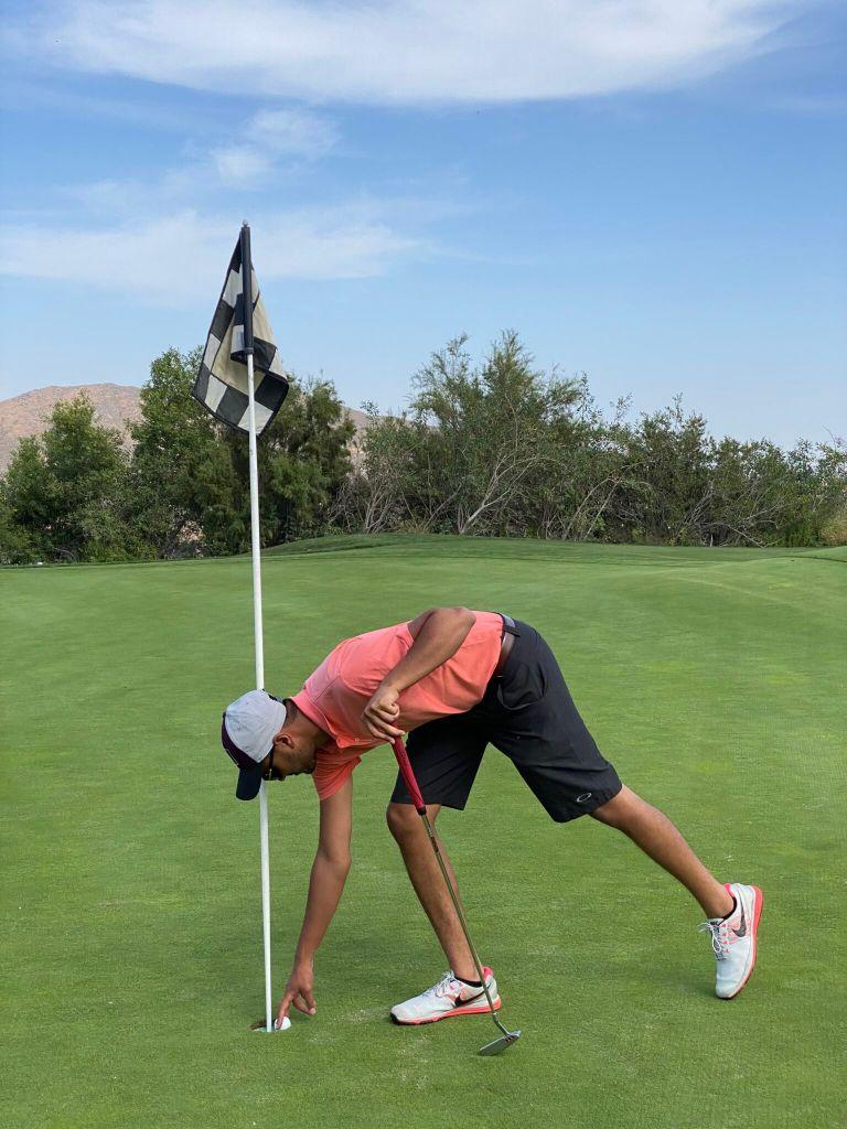 Dr. Vivek Soham WINNING Golf