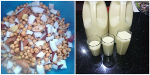 Health benefits of tiger nuts, dates and coconut smoothie