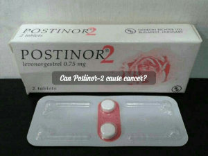 Can Postinor-2 cause cancer?