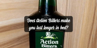 Does Action Bitters make you last longer in bed?