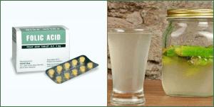 Can I take okra water and folic acid together?