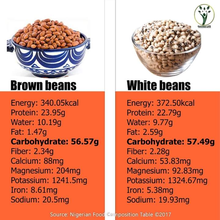 Is beans protein or carbohydrate?