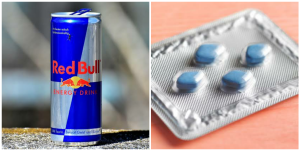 What happens if you drink Red Bull with Viagra?