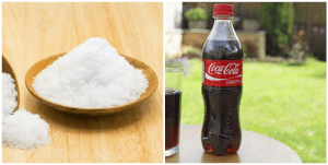 Benefits of drinking coke with salt