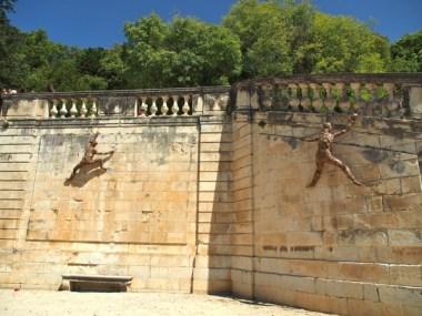 Climbing the walls...