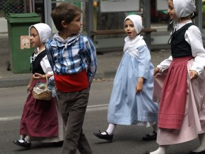 Time for a folklore parade...
