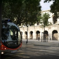 The trambus of Nîmes