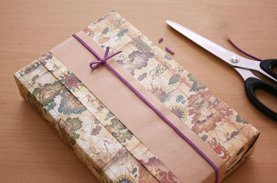 Как украсить коробку для подарка