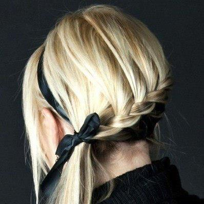 Укладки на каждый день для длинных волос (фото)
