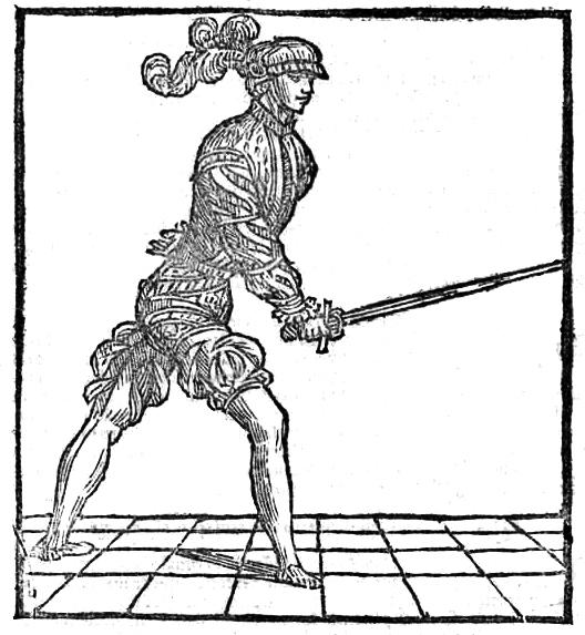 Coda longa e stretta à l'épée seule