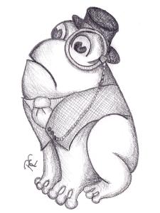 Monocle Frog