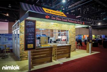 Trade show exhibit design themes
