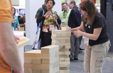 Fun trade show games and trade show contests