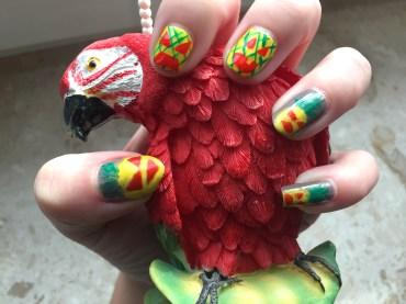 halloween-nails_ananas