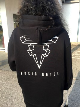 Tokio Hotel Dream Machine Tour Hoodie