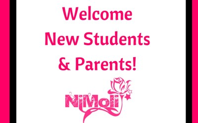 Welcome New Students & Parents to NiMoli Studio!