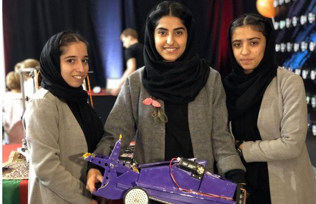 زنان در عصر جدید به سراغ رویاهای شان رفتند. عکس از دختران رباتیک(رویاپردازان افغان)