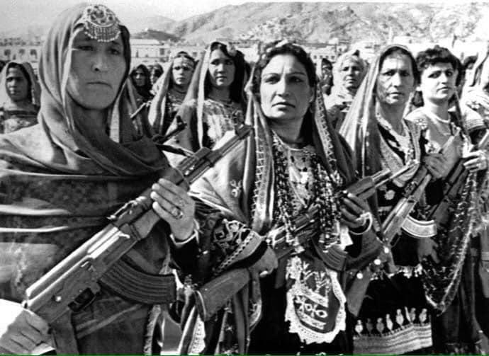 واحد نظامی زنان در دوره داکتر نجیبالله احمدزی