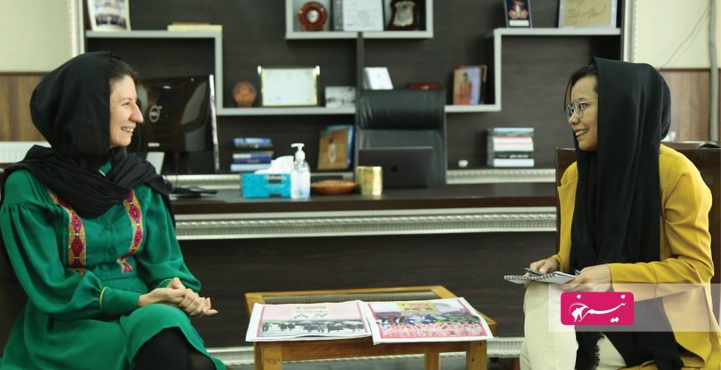 شهرزاد اکبر، رییس کمیسیون مستقل حقوق بشر افغانستان در مصاحبه با مریم شاهی، سردبیر نیمرخ