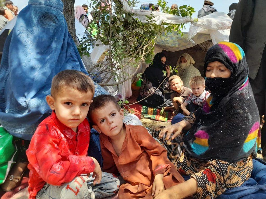 بیجاشدگان جنگ شمال در کابل