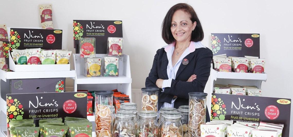 Nimisha Raja of Nim's Fruit and Vegetable Crisps