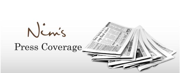 Nim's Fruit & Vegetable Crisps Press Coverage