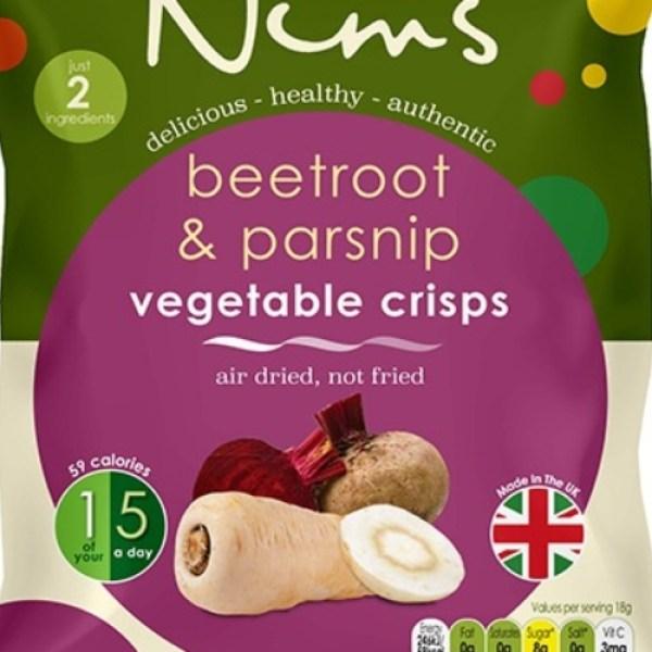 Beetroot & Parsnip Vegetable Crisps - Single Pack