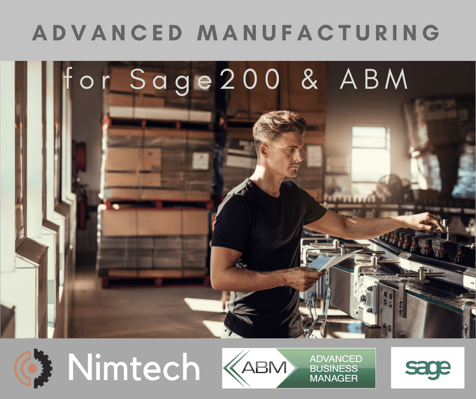 Advanced Manufacturing For Sage 100 & ABM