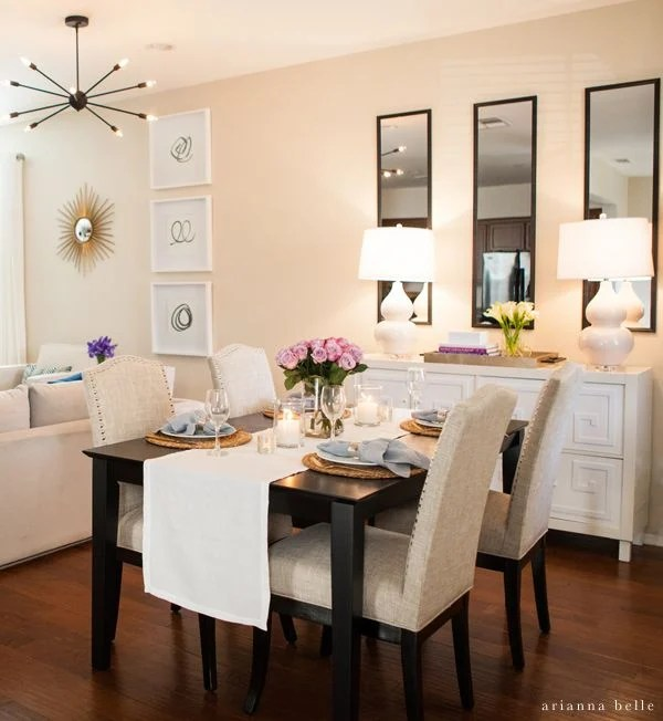 20 small dining room ideas on a budget on dining room inspiration id=36205