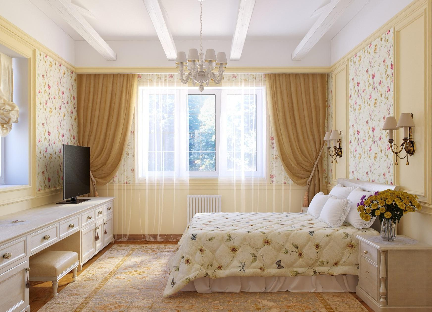 20 Beautiful Curtain Ideas for the Bedroom on Beautiful Bedroom Curtains  id=56695