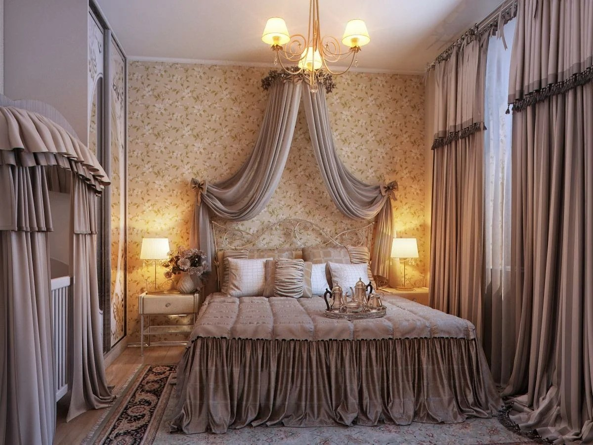 20 Beautiful Curtain Ideas for the Bedroom on Bedroom Curtain Ideas  id=50066