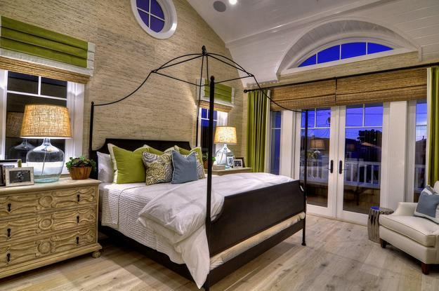 20 Beautiful Curtain Ideas for the Bedroom on Beautiful Bedroom Curtains  id=18500