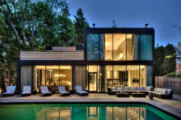 20 of the Most Gorgeous Glass House Designs on Modern Glass House Design  id=49790