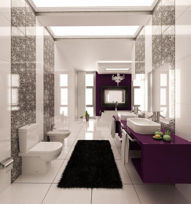 20 Beautiful Purple Bathroom Ideas on Beautiful Bathroom Ideas  id=97630