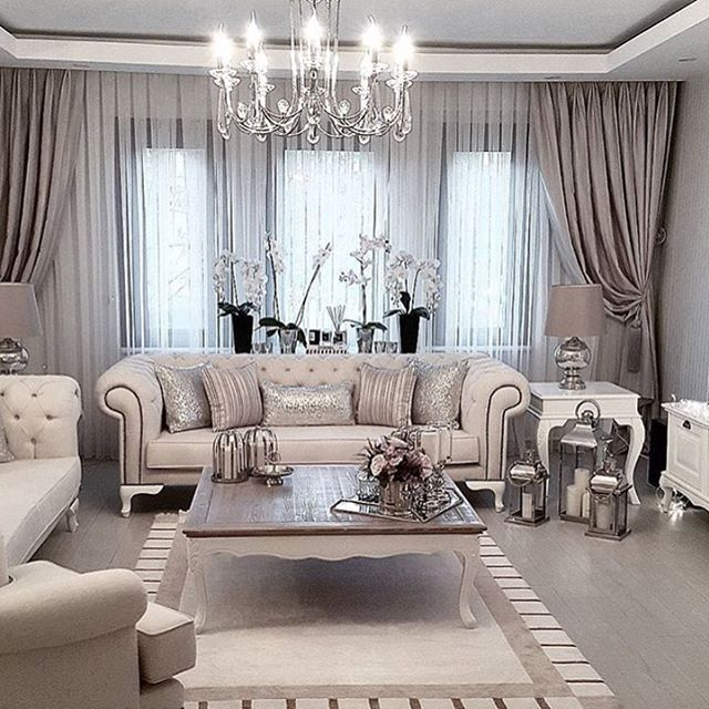 20 Curtain Ideas for Your Luxurious Living Room on Living Room Curtains Ideas  id=23466