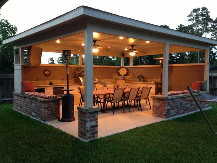 20 Backyard Entertainment Areas That Will Blow You Away on Small Backyard Entertainment Area Ideas id=15225