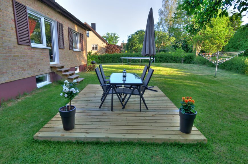 20 Gorgeous Floating Deck Designs on Simple Back Deck Ideas id=34100