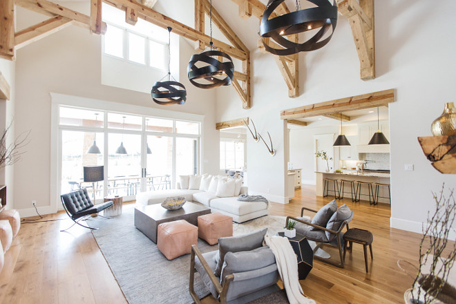 20 Gorgeous Interior Examples of the Modern Farmhouse Look