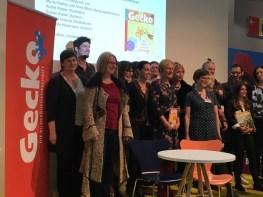 Frankfurter Buchmesse 2017, Lesung für Gecko