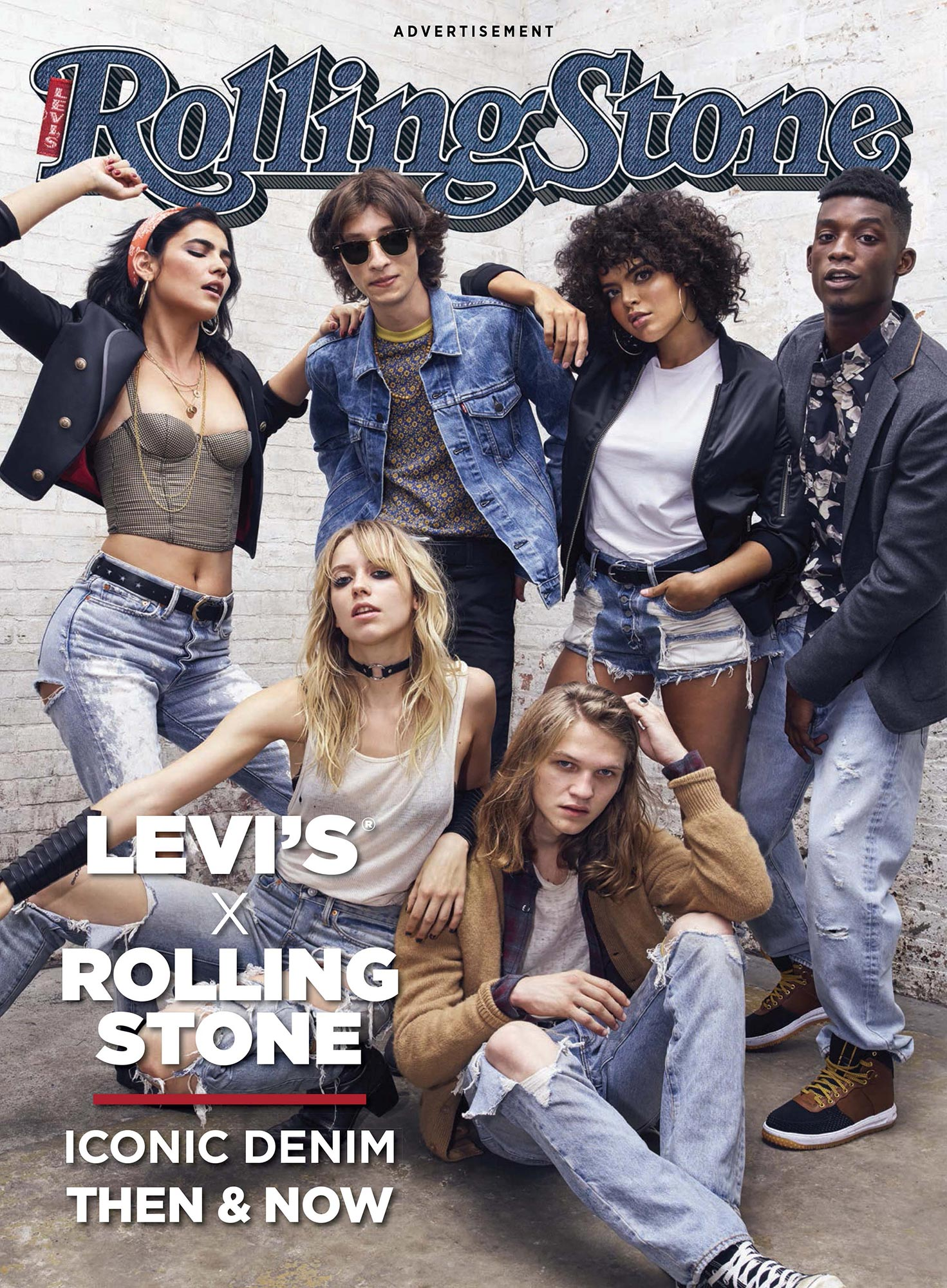Levi's x Rolling Stone