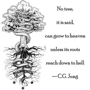 Trees, roots, heaven, hell