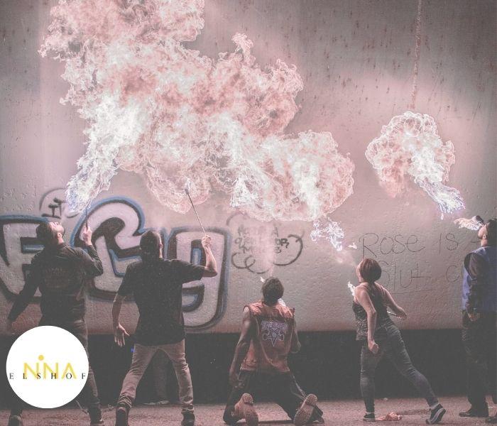 vuur, jongeren, Nine Star Ki