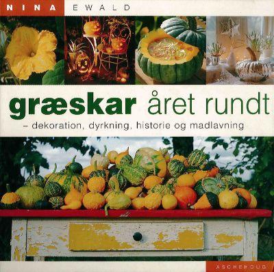 Nina Ewald: Græskar året rundt, cover