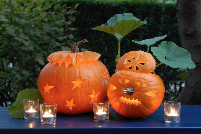 Græskarlygter Til Halloween– Skær Dem Selv