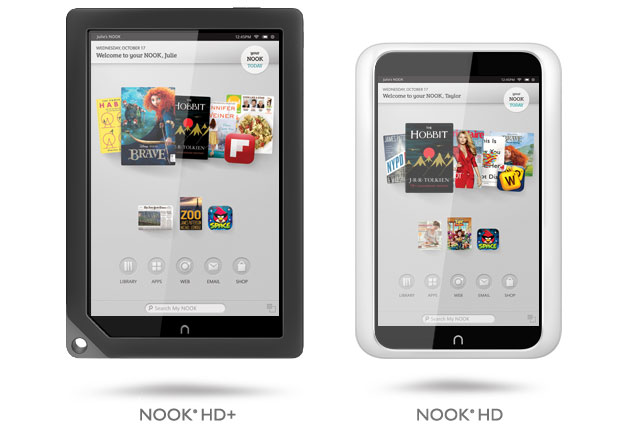 Barnes & Noble Nook Media Tablets: Nook HD+ and Nook HD