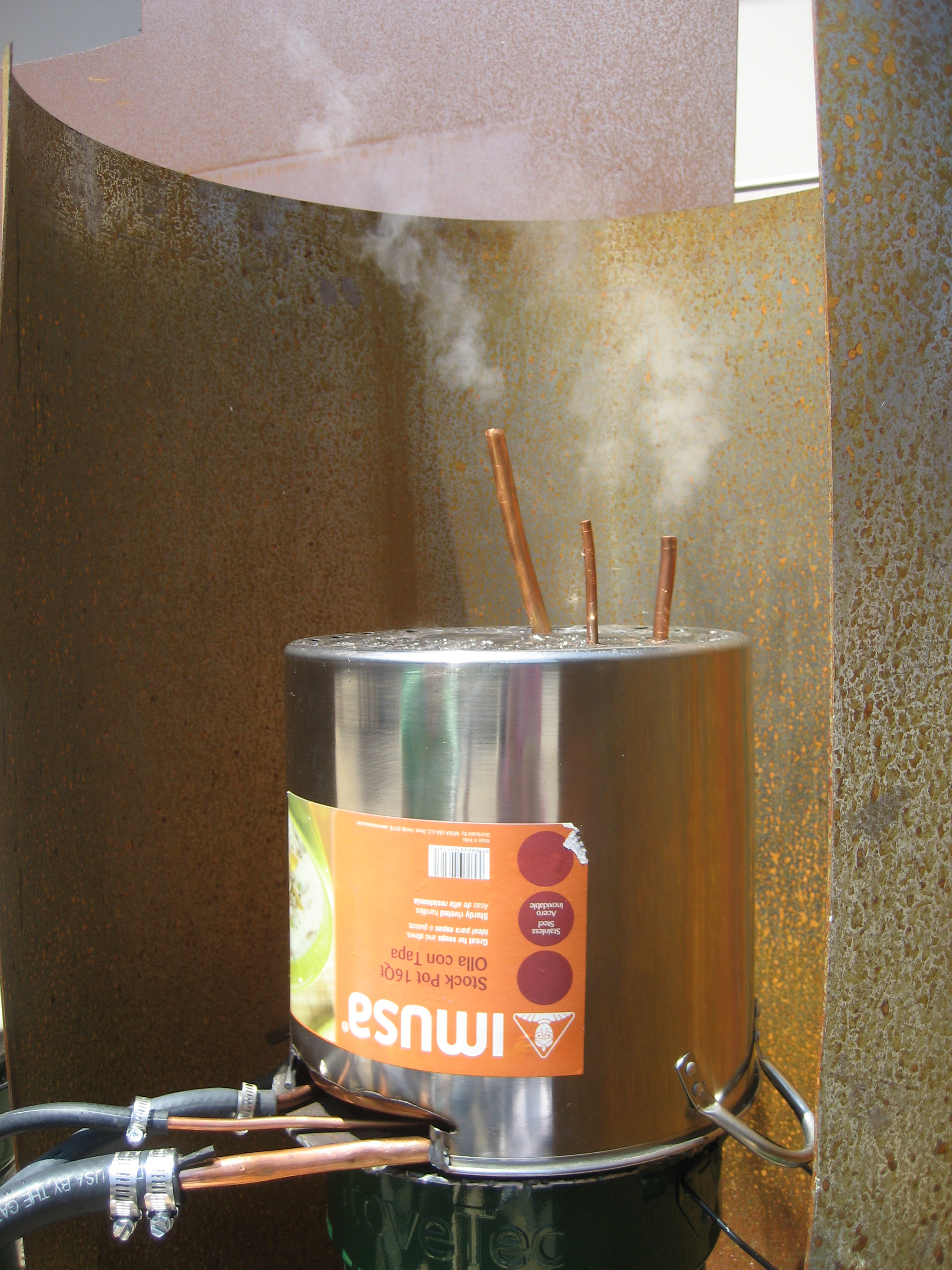 The Easy Steam Machine Boiler System for Distillation Units