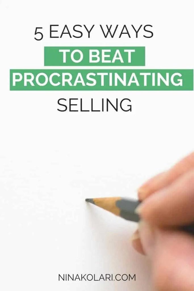 5 Easy Ways to Beat Procrastination