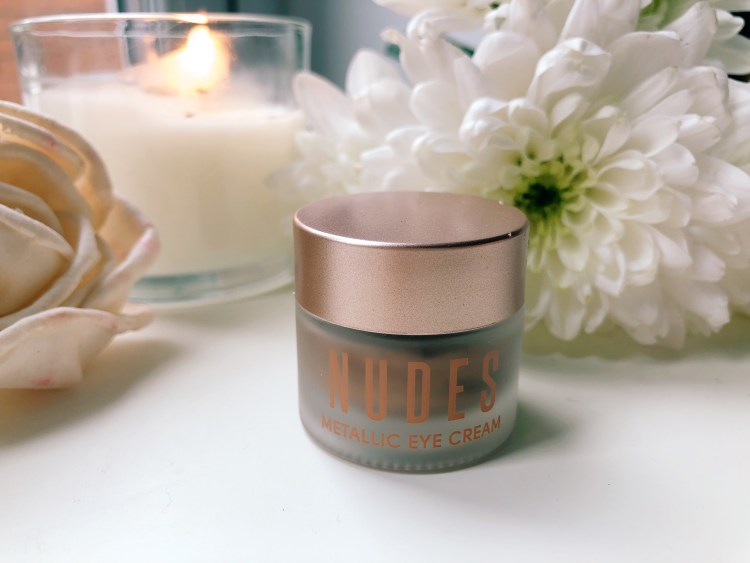 PRIMARK NUDES METALLIC EYE CREAM